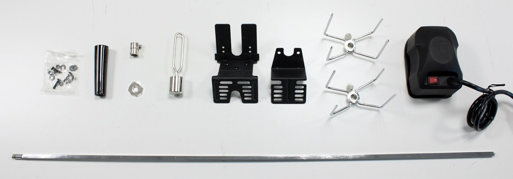 whole set of spit rotisserie kit