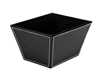Handmade Leather Display Cosmetic Storage Box