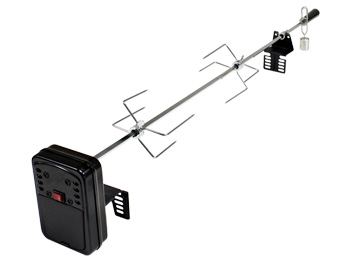 portable rotisserie kit