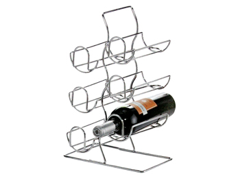 white wine rack