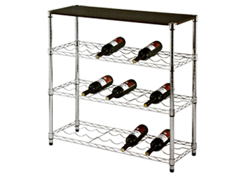 metal rack shelf