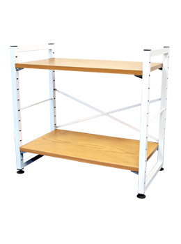 2  tier home shelf
