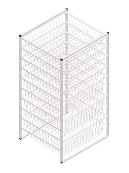 storage rack basket