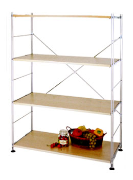 metal frame bookshelf