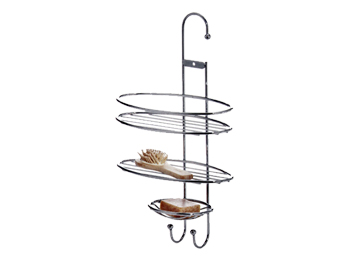 wire shower caddy,