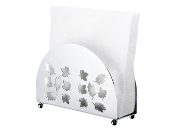 upright napkin holder