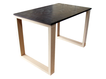 rectangle wooden dining table