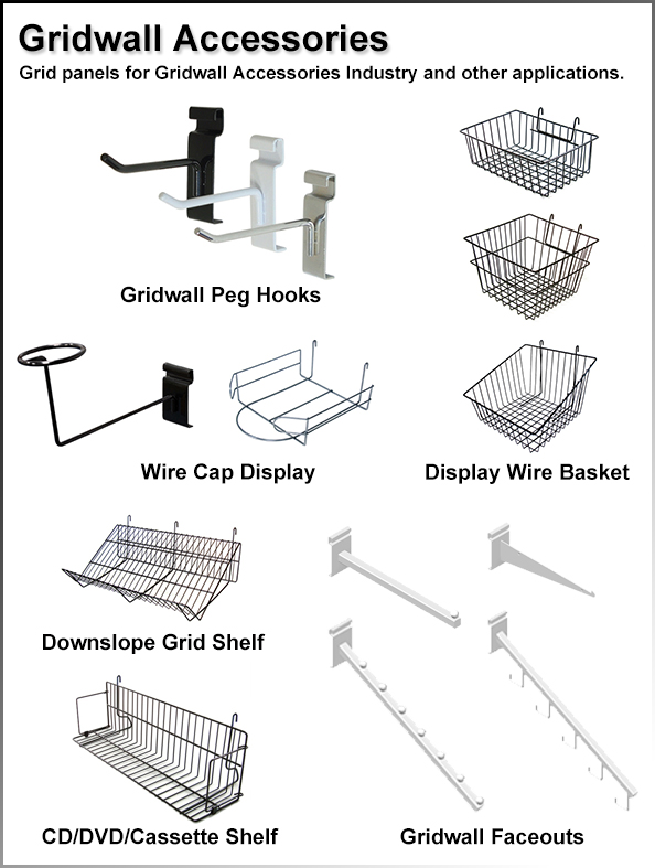 mountable wire baskets