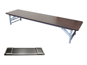 narrow folding table