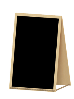 small chalkboard with stand