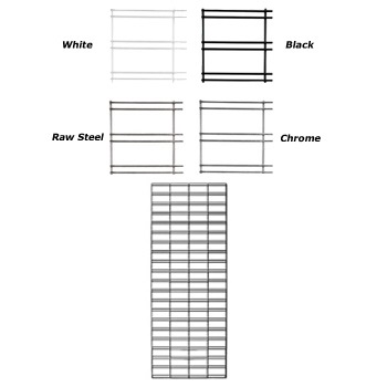 slat grid panels