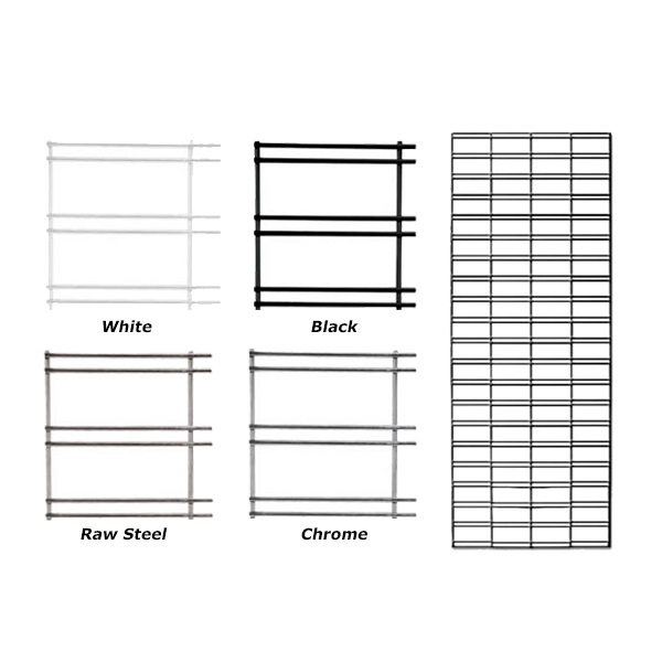 metal grid panels