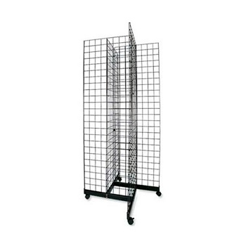gridwall wire display stand