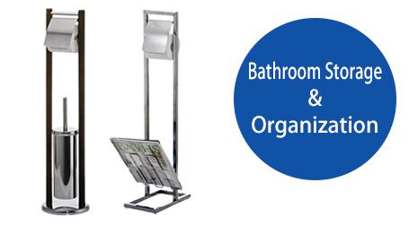 Toilet Brush Set in Bathroom Storage and Organization