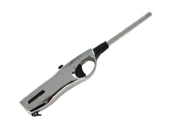 Silver Refillable Butane Lighter