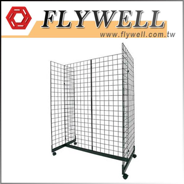 Gridwall Gondola Floor Display Stands
