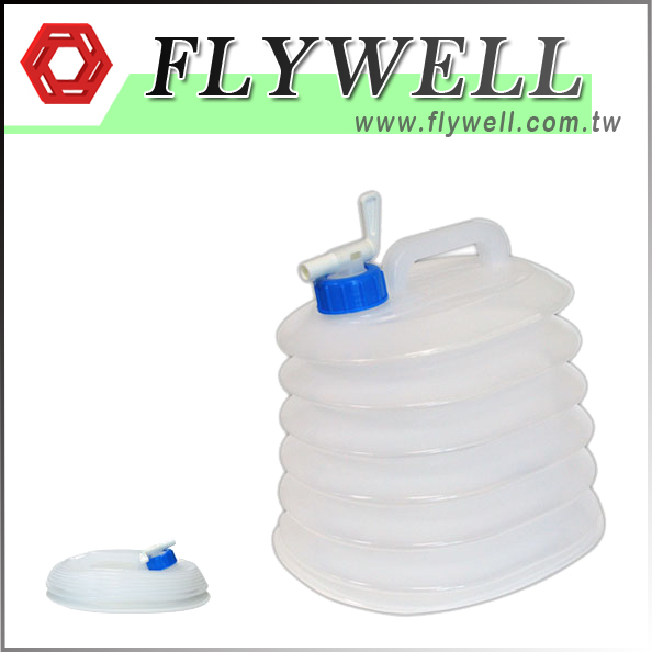 Collapsible Water Storage Container For Camping