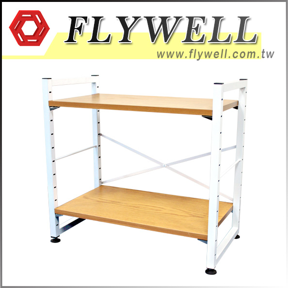2 Shelf Heavy Duty Metal Storage Unit