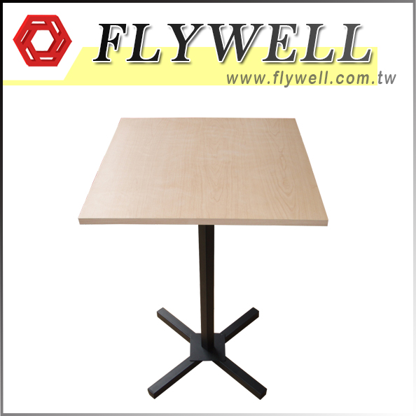 Restaurant Wood Square Dining Table