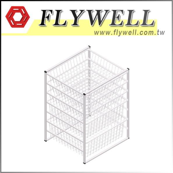 7 Tier Wire Mesh Storage Drawers