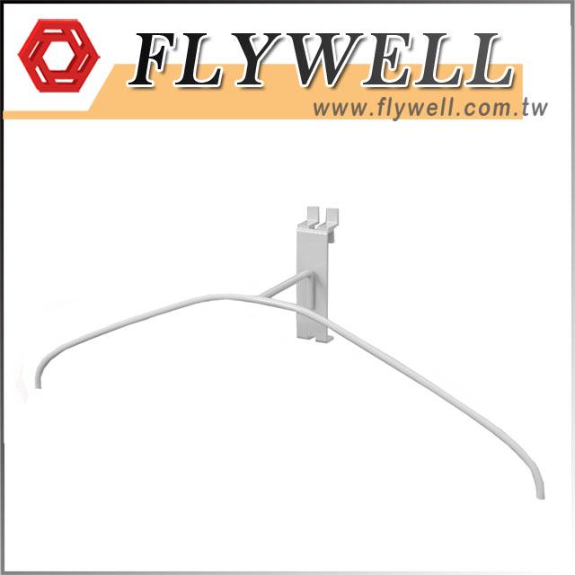 Metal Wire Slatwall Coat Hanger