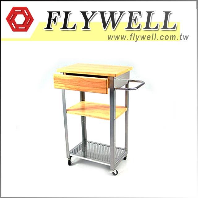 3 Tier Kitchen Storage Trolley Cart