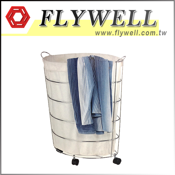 rolling clothes hamper